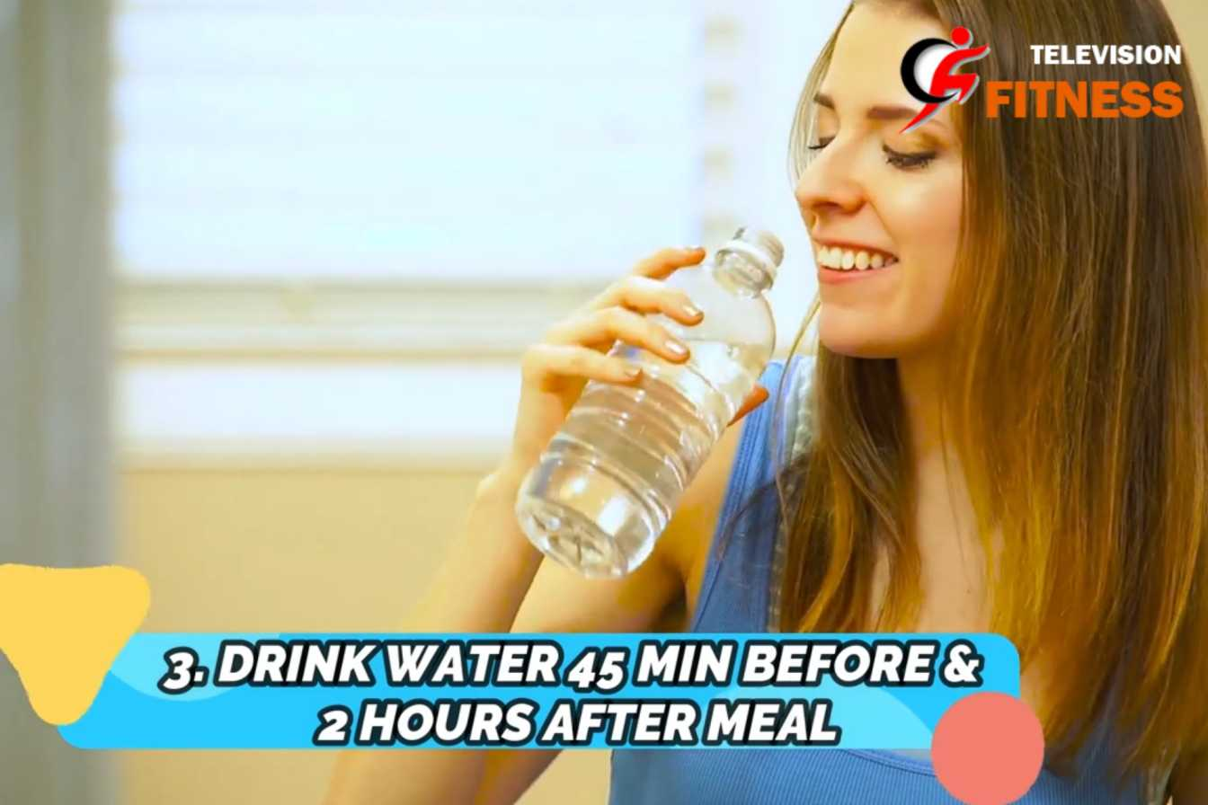 How to Lose Weight Drinking Water