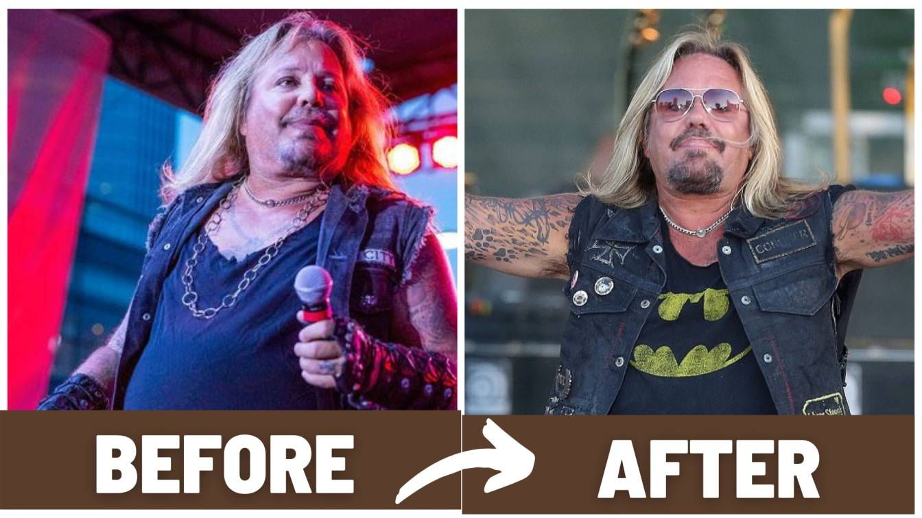 Vince Neil Before and After